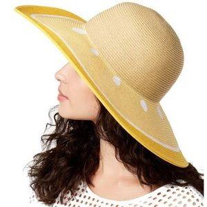August Hats Lemon Yellow Floppy Hat